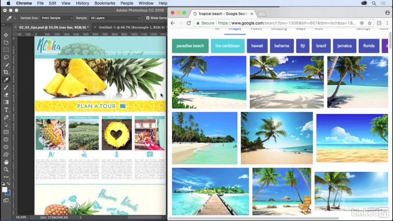 11 Design Tips And Tricks Lynda Photoshop For Web Design